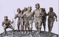 祁连山下的女红军